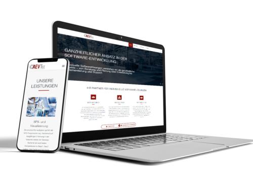 Individuelle Website für individuelle Software-Entwickler