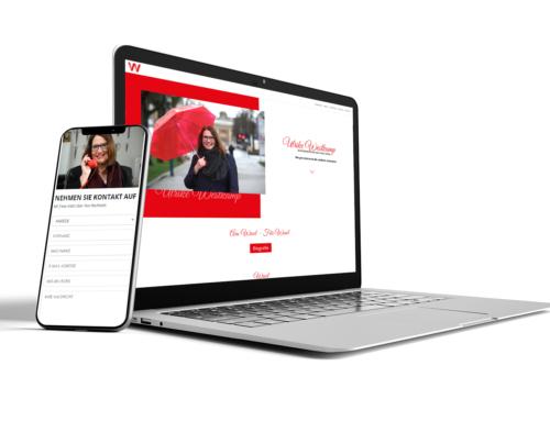 Neue Website für die Bürgermeisterin von Wesel