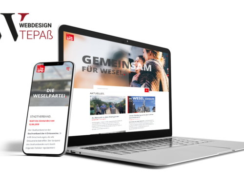 Neuer Webauftritt für die SPD in Wesel